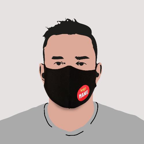 mondkapjes budget logo zwart 2
