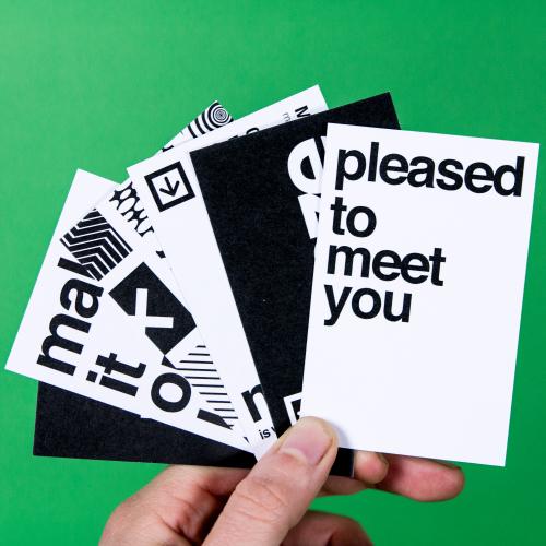 luxe visitekaartjes 3